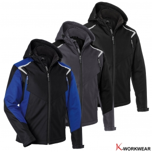 "Produktbild ""Kübler® Winter-Softshelljacke BODYFORCE"""