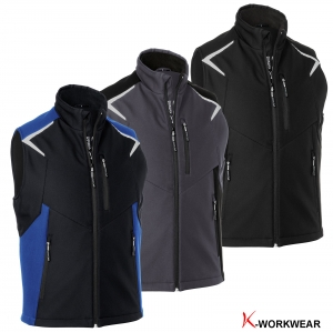 "Produktbild ""Kübler® Softshell-Weste BODYFORCE"""