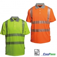 Produktbild: Polo-Shirt 531 CoolPass EN ISO 20471